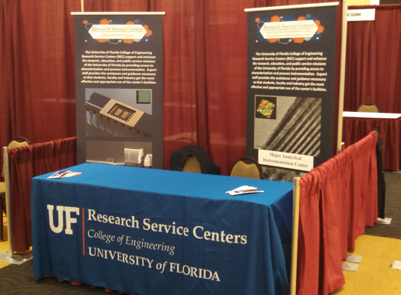 The Research Service Centers will be attending the 2015 AVS Florida Chapter (Fl AVS) and the Florida Society for Microscopy (FSM) Symposium taking place March 9-10, 2015 at the University of Central Florida (UCF).